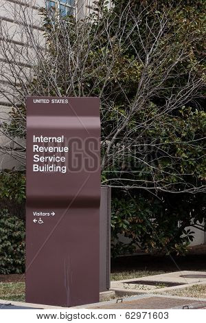 Irs Building Sign