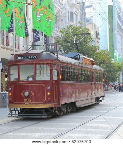 Melbourne Tram restaurant