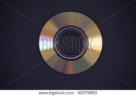 Cd Dvd On Black