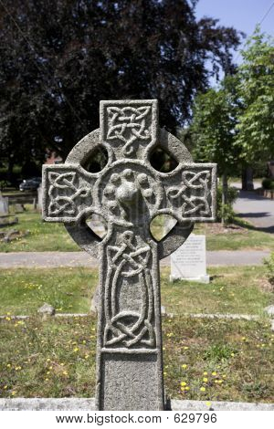 Ornate Celtic Cross
