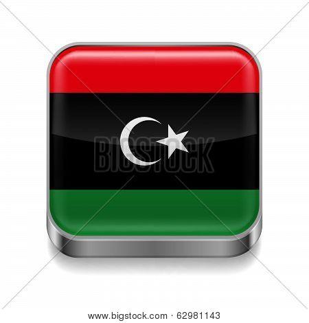 Metal  icon of Libya