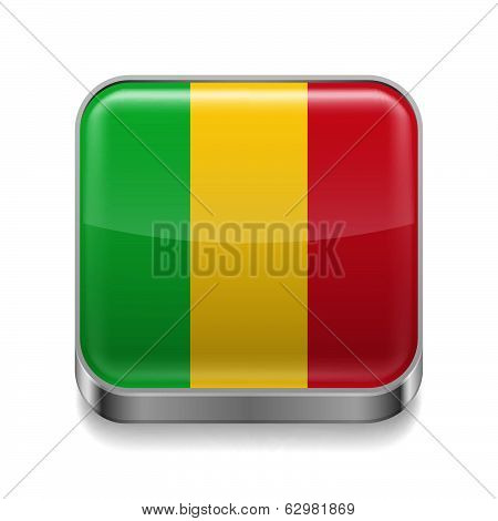 Metal  icon of Mali
