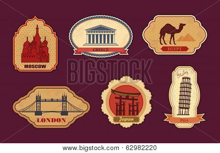 Labels of travel