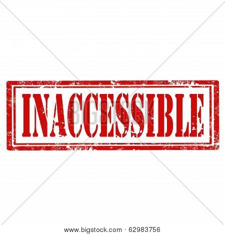 Inaccessible-stamp