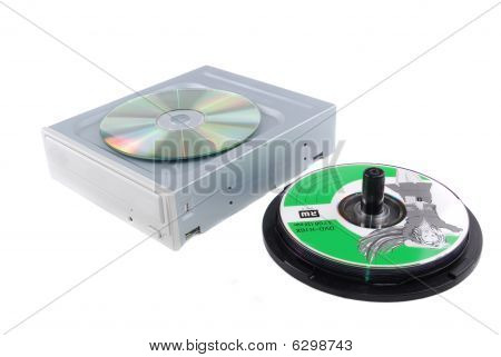 Computer Device Dvd Rw And Disks