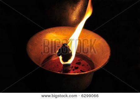 Buddhist Lamp