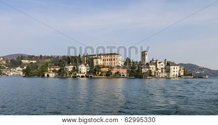 Lake Orta - San Giulio Island