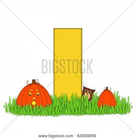 Alphabet Pumpkin Patch I