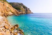 Javea Xabia Playa Tango beach in Alicante Mediterranean Spain