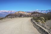foto of mendocino  - Provincial Road 52 passing by the Department of Las Heras in Mendoza Argentina - JPG
