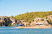 picture of dalyan  - Turkey mountains near the river - JPG