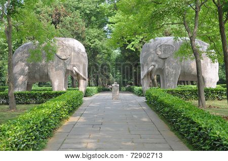 Ming Xiaoling Mausoleum, Nanjing