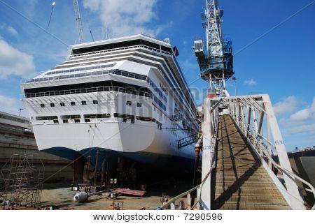 Dry Dock In Bahamas