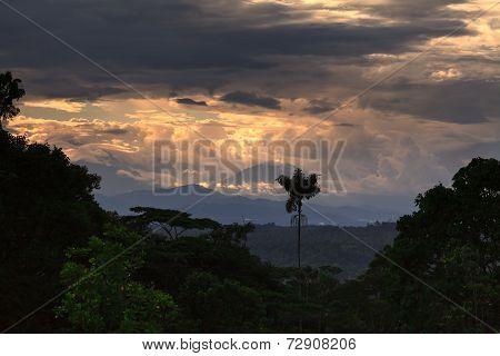 Sangay Volcano, Amazonia Rainforest
