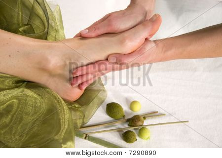 wellness composition - foot sole massage