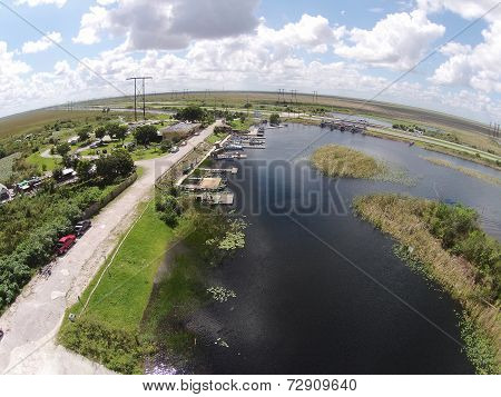 Boat Ramp In The Florid Everglades