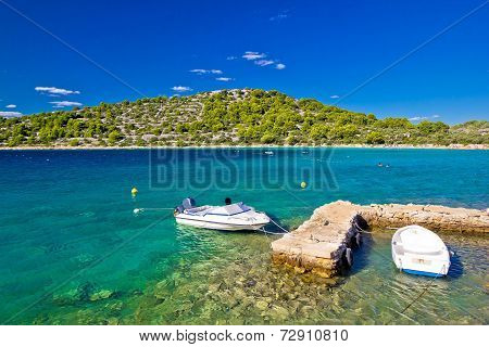 Lucica Lagoon Turquoise Sea Beach
