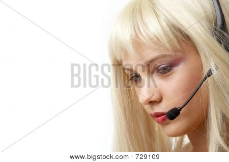 Customer Service Blonde