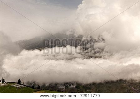 Tungurahua Is One Of The Most Active Volcanoes In Ecuador, South America