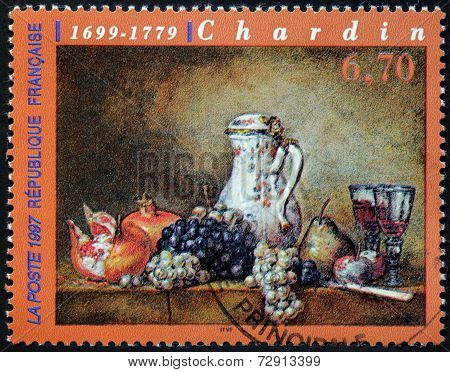Grapes And Pomegranates