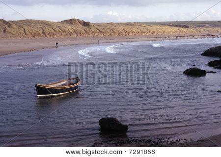 Boat In Aberffraw