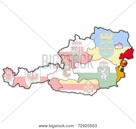 Burgenland On Map Of Austria