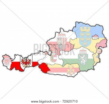 Tirol On Map Of Austria