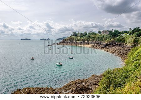 View At The Cancale Bay