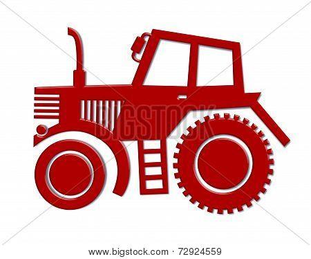 tractor car icon