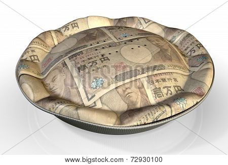 Money Pie Japanese Yen