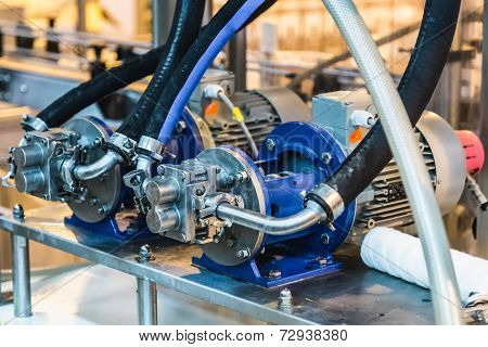 Engine Equipment On Factory