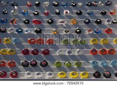 Colorful Evil Eye Beads