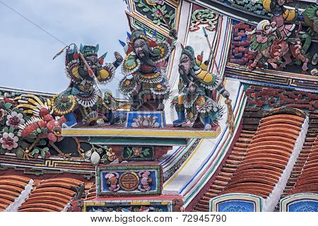 Chinese Temple In Malacca City