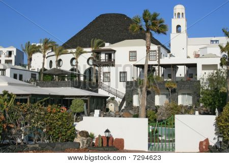 Hotel on Lanzarote, Canary island, Spain