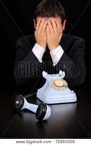 Businessmen Have Received Bad News.