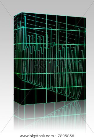 3D Barcharts Box Package