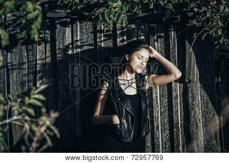 Gorgeous Brunette Dreaming