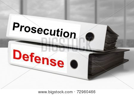 Office Binders Prosecution Defense