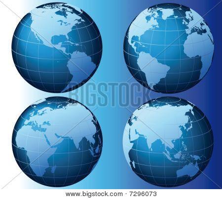 World - Global Set Series - Vector