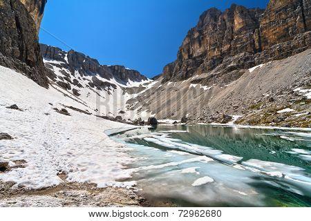 Dolomiti - Lake Pisciadu