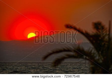 Sunset on Lake Garda, Sirmione, Northern Italy