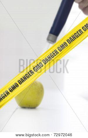 Danger Gmo Cordon Tape