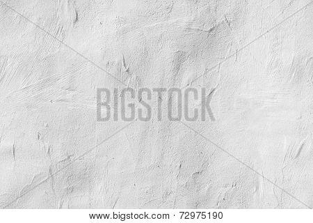 Old White Concrete Wall, Seamless Background Texture