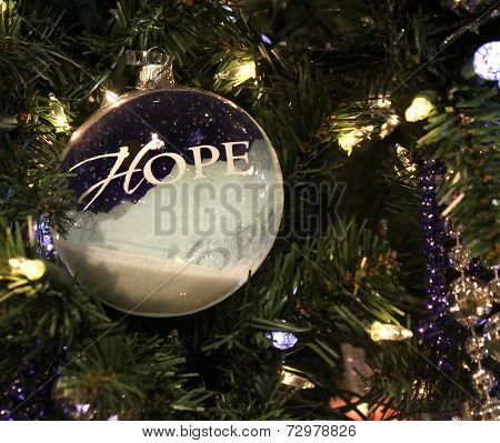 Christmas Hope Bauble