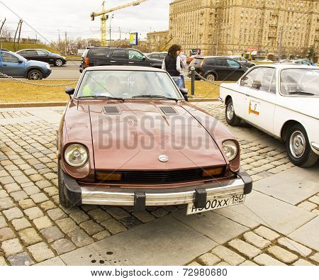 Rally Of Classical Cars, Moscow, Datsun