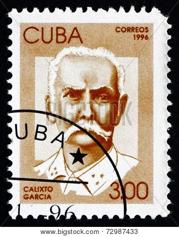 Postage Stamp Cuba 1996 Calixto Garcia, Revolutionary