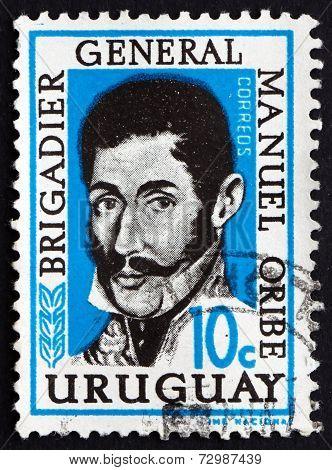 Postage Stamp Uruguay 1961 General Manuel Oribe