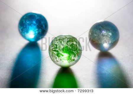 Concept Glass Planets