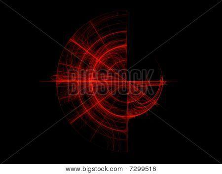 Abstract Fractal Background Design