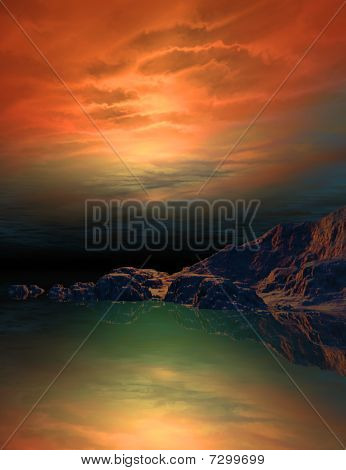 3d waterscape